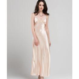 3c4b23111d long lace bathrobe Coupons - Lace Sexy Sling Sleeping Dress Satin Silk  Sleepwear Women Faux Silk