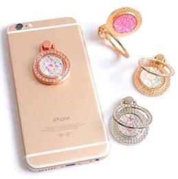 Lüks Tasarımcı Gem Glitter Rhinestone IPhone X XS için Standı Telefon Tutucu MAX XR 8 7 Artı 6 Elmas Yüzük Yuva S9 Not 8 S8 cheap gem diamonds nereden mücevher elmasları tedarikçiler