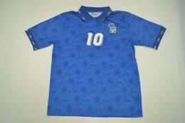 1994 world cup Italy Retro rugby Jersey Roberto Baggio Maldini Baresi  Albertini Donadoni Zola Conte 1994 Italia Vintage classic shirts XXL fdfbdaeda