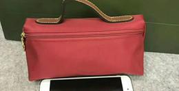 складывающиеся сумки оптом Скидка бренд косметички случаи макияж cluth сумка монета кошельки дизайнер женщины небольшой высокое качество