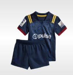72df619ae 18 19 Highlanders home children's set size 18-28 kids Rubgby World Cup NRL  National Rugby League Jersey Shirts American football Free shipp