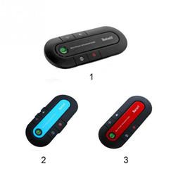 Мобильное соединение онлайн-BT980 супер спикерфон Беспроводной Bluetooth 4.1 громкой связи автомобильный комплект MP3 плеер для мобильного телефона двойное подключение