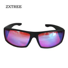 Wholesale Glass Blinds - ZXTREE Color Blindness Glasses Correction Women Men Glasses Red Green Blind Card Sunglasses Test driver's license Eyewear Z391