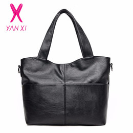d0507ace9496 YANXI 2017 Factory Outlet Luxury Handbags High Quality PU Shoulder  Messenger Bag Vingate Fashion Style Crossbody Bags For Women