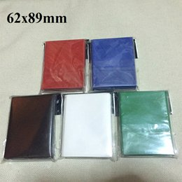 Wholesale Oh Cards - 100pcs 62x89 mm colorful small size Board Game Cards Sleeves Barrier Card Protector for Yu-Gi-Oh! cards sleeve TCG cards
