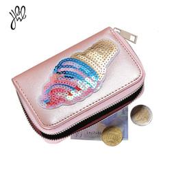Borsa della moneta modello floreale online-Bello nuovo breve portafogli per ragazze portamonete portamonete piccolo floreale decalcomanie di ghiaccio modello portafoglio Designer 500663