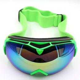 Wholesale Double Lens Ski Goggles - Professional Ski Goggles Double Lens UV400 Anti-fog Adult Snowboard Skiing Glasses Women Men Snow Eyewear Glasses