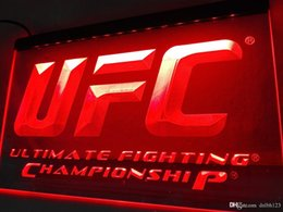 Wholesale Ultimate Orange - LD346r- UFC Ultimate Fight Championship LED Neon Light Sign