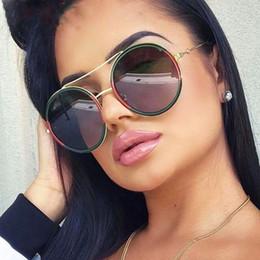 559f869f38c72 Por atacado armações de óculos masculinos on-line - Rodada óculos de sol  mulheres 2018