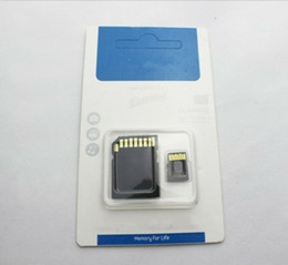 Wholesale micro sd card free shipping - 2018 Sale SFG 64GB Memory Card 10 TF SD Micro Card NEW DHL Free Shipping