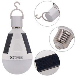 Canada L'ampoule solaire de boule de LED ou 18650 85V-265V 7W 12W rechargeable accrochant l'éclairage de voyage de camping de secours Offre