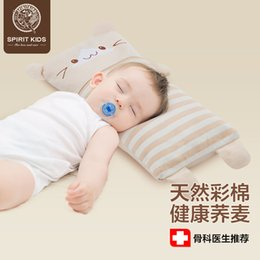 Wholesale Buckwheat Pillows - 2018 Real Hot Sale Cooling 0-3 Months 19-24 Months Rectangle Animal Sk Buckwheat 3 Month To 6 Years Baby Newborn Pillow Gift