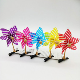 Wholesale Chinese New Year Toys - Cute Christmas chinese new design year novelty decoration Windmill hair clip pinwheel toys