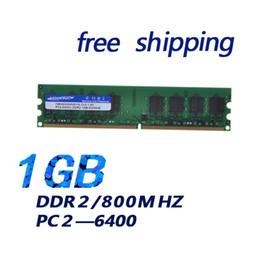 Wholesale Memory Pricing - BEST PRICE ! Brand New DIMM Memory Ram DDR2 1G 1.8v 240PIN memoria ram For desktop computer
