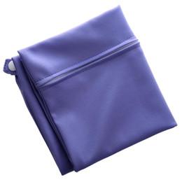 2019 sacchetti di pannolini viola Borsa per pannolini riutilizzabile lavabile impermeabile con cerniera per Pocket Pocket sacchetti di pannolini viola economici