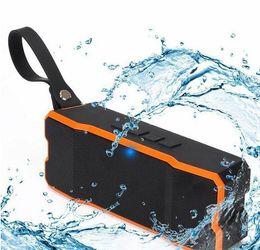 Wholesale Mini Speaker Smart Phone - Wholesale new type Portable Wireless Bluetooth Speaker Outdoors HD Bass Sound Stereo Pairing,4500mAh IP65 Waterproof Sport for Smart phone i