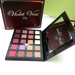 Wholesale pro tools set - Eye Shadow Violet Voss Holy Grail Pro Palette Eyeshadow Makeup Kits Eyes Cosmetics Make Up Tool Sets 20 Colors