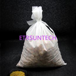 Sacchetti di cravatta online-Grandi sacchetti di filtro non tessuto del tessuto di X50cm di 40 misure che decocting le borse della medicina con la borsa della pianta di erbe del panno del legame QW7771