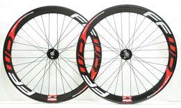 700C 50mm derinlik Parça bisiklet karbon jantlar sabit dişli sokak 25mm genişlik bisiklet kattığı / Tübüler karbon tekerlek U-şekil jant FFWD çıkartmaları ile supplier u track nereden iz tedarikçiler