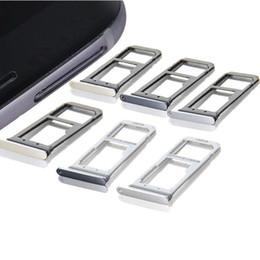 2019 telefones celulares importados Peças de substituição do suporte do entalhe da bandeja do cartão de SIM para a borda G935 da galáxia S7 G930 S7 de Samsung