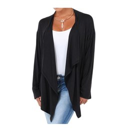 Wholesale Cheap Fashion Clothes Women - Wholesale- High Quality Autumn Cheap Clothes Women Fashion Tops Long Sleeve Cardigan Thin Jackets Female Open Stitch Outwear Tops Shirts