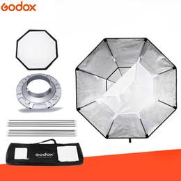 Softbox bowens online-venta al por mayor Softbox BW95cm octágono Softbox Bowens Monte el anillo del adaptador de la aleación de aluminio