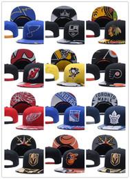 Wholesale hockey snapbacks - 2018 wholesale Newest Ice Hockey Cap Nashville Predators Snapbacks Hats For Men Knitted Vegas Golden Knights Snapback Caps Drop Shipping