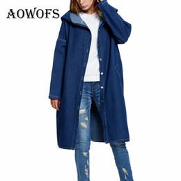 Wholesale Light Winter Coats For Women - Women's Denim Winter Jackte Coats Plus Size 5XL Light Blue Dark Blue Outerwear Bigger Jean Denim Jacket With Cap for Women