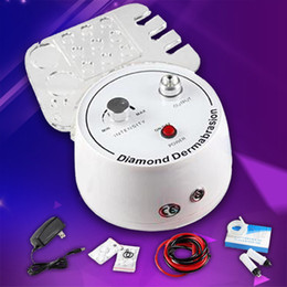 Wholesale Microdermabrasion Machines For Sale - HOT SALE !!! 2018 New Model Multifunction Dermabrasion Machine 3 In 1 With Sprayer Vacuum For Head Microdermabrasion Facial Machine CE DHL