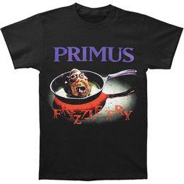 Marca licenciada on-line-Primus Frizzle Fry Nova Marca Oficialmente Licenciado Banda Camisa engraçada 100% camiseta de Algodão
