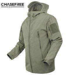 Wholesale Shark Military - Brand Jacket V5 .0 Military Tactical Men Jacket Lurker Shark Skin Soft Shell Waterproof Windproof Men Windbreaker Jacket Coat