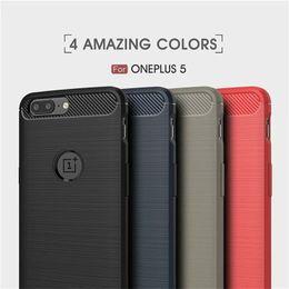Un teléfono móvil más online-TXW Soft TPU Case for One Plus 6 5T 5 OnePlus 3 3T Cell Phone Case Back Cover