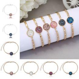 Wholesale Wholesale Fashion Jewelry Turkey - Cuff Bracelets For Women New Fashion High Quality Round Pendant Silver Gold Turkish Bracelets for Women Turkey Jewelry D634S