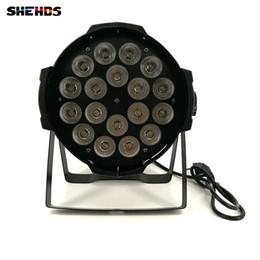 Wholesale Par Can Bulb - Aluminum alloy LED Par 18x12W RGBW 4in1 LED Par Can Par 64 led spotlight dj projector wash lighting