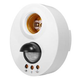 Pirhalter online-E27 Infrarotlicht Lampenhalter Schalter Bewegung PIR Sensor Einstellbare Verzögerung Basis Lampenfassung
