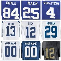 Homens faculdade futebol on-line-2018 Indianapolis Peyton Manning jersey Colts Joe Haeg Edwin Jackson futebol rugby faculdade retro rugby camisas de futebol americano costurado 5xl