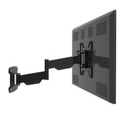 """Стены телевизор онлайн-Сверхмощная общая стойка стены tv для 32-42 """" кронштейн VESA 200 рукоятки держателя стены LCD TV Retractable"""
