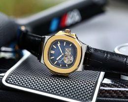 Canada HOT STOCK pas cher 43MM CASE BACK verre luxe mécanique automatique sport hommes regarder nouvelle montres en acier inoxydable pour hommes. supplier eyki watches Offre