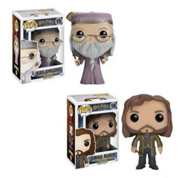 Wholesale Figures Manga - Free Shipping Harry Potter Movie Player Sirius Model Dumbledore Decoration Anime And Manga Action Figures Handing Presents