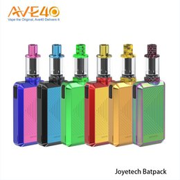 Wholesale innovative green - 100% Orginal Joyetech Batpack Kit with 2ml ECO D16 Tank Atomizer BFHN 0.5ohm Coil Head Innovative Powered by Ni-MH Battery (NO Battery)