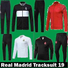 chaqueta blanca del real madrid Rebajas Nuevo 2018 2019 Real Madrid Home  Blanco visitante Trajes de 0f07411fccba3