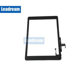 pannello touch screen capacitivo Sconti Schermo frontale Touch Screen esterno Leadream / Top Quality Per iPad 5 A1822 A1823 per iPad Touch Screen Digitizer