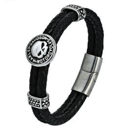 pendentif ovale plaqué or en gros Promotion 2018 Europe et vente bracelet en titane double dragon Bracelet en cuir Bracelet en acier inoxydable