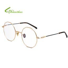 8afa666c507 Ladies Vintage Overeszied Glasses Frames For Women Metal Brand Designer  Optical Clear Lens Eyeglasses Fashion Eyewear Oculos