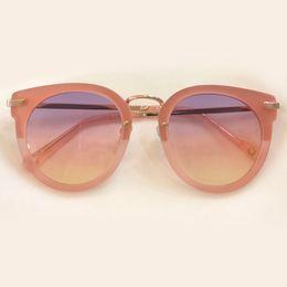 78a7bdb4c520b Retro Thick Frame Cat Eye Sunglasses Women Ladies Brand Designer Gradient  Mirror Lens Cateye Sun Glasses For Female oculos de sol