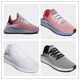 Wholesale names shoes - 2018 Classic New Originals Deerupt Runner SHOES mans womens shoes sports shoes running shoe Big boost name CQ2624 szie 36-45