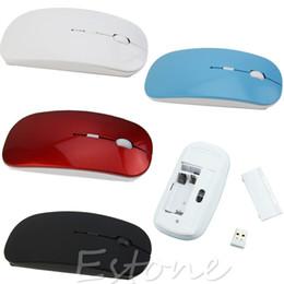 tavoletta fine Sconti Mouse senza fili di alta qualità con mouse ottico USB da 2,4 GHz per tablet Computer. Finest 4 colori