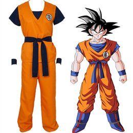 Wholesale dragon ball z goku costume - Dragon Ball Z Son Goku Turtle senRu Cosplay Costume Outfits Halloween Party Uniform Shoe cover Shoes