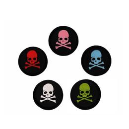 2019 spielkartenabdeckung Silikon Skulls Analog Thumb Sticks Griffe für PlayStation 4 PS4 PRO Slim Controller Caps für XBox 360 / One für Nintend Switch Pro