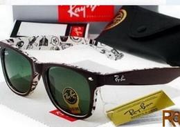 Wholesale Vintage Sunglasses Sale - 50mm 2140 Hot Sale Aviator RAY Sunglasses Vintage Pilot Brand Sun Glasses Band UV400 BANS Men Women Ben wayfarer sunglasses